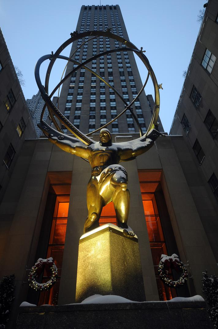 Atlas, on Rockefeller Plaza